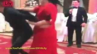 Драка на свадьбе за букет невесты! / A fight to the wedding bouquet for the bride!