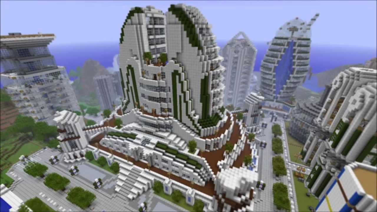 Top 10 minecraft bauwerke youtube - Minecraft hochhaus ...