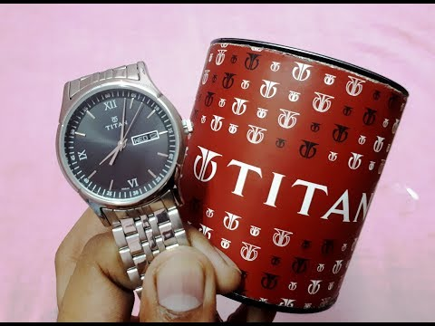 Titan Men's Wrist Watch Unboxing & Overview | 27 June 2019