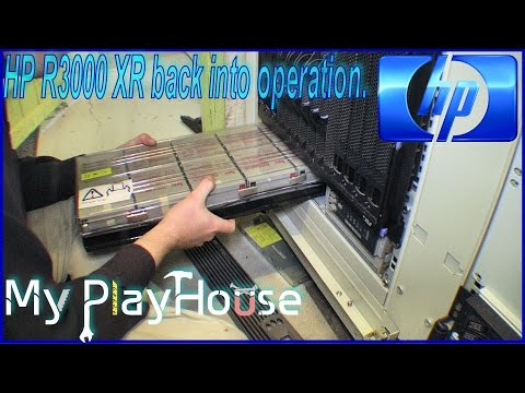 Batteries back into the HP R3000 XR UPS System - 250