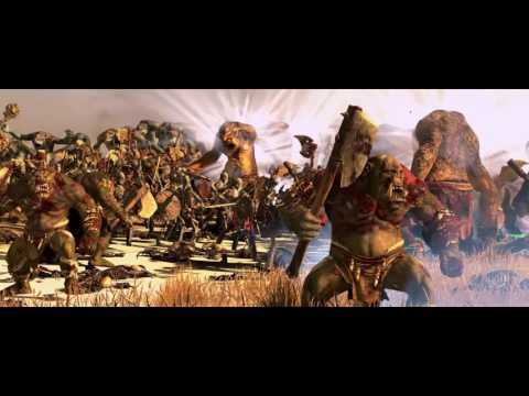 ORC AND TROLL AND GOBLIN VS SKELETON AND WRAITH AND ZOMBIES - MASSIVE BATTLE TOTAL WAR WARHAMMER |