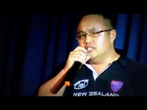 MICHAEL YANG - We are the world cover on stage