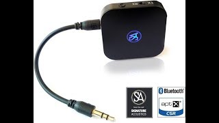 Convert you non-bluetooth TV, Music System, Speaker with Music Transmitter to Bluetooth