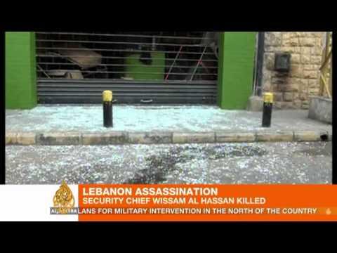 Blast in Lebanon kills top security official