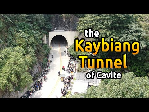 The Kaybiang Tunnel in Cavite// The longest tunnel in Philippines