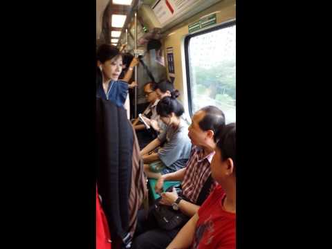 "20140527 Evening Incident ""Fighting at MRT"" Part2"