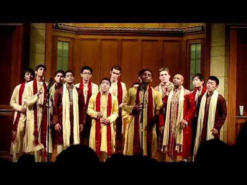 Jaane Kya Chahe Mann Bawra / Burn - Stanford Raagapella @ Spring Tour 2012 (Yale)