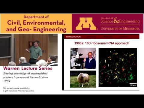 Warren Lecture Series, Dec 02 2016, Timothy LaPara, University of Minnesota