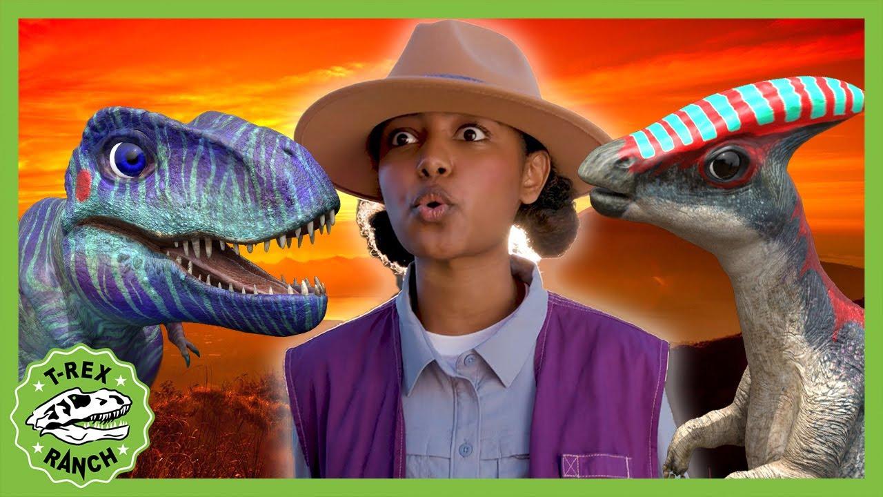 And Park Ranger Bella As Ridley Jones | NEW! | T-Rex Ranch Dinosaurs for Kids