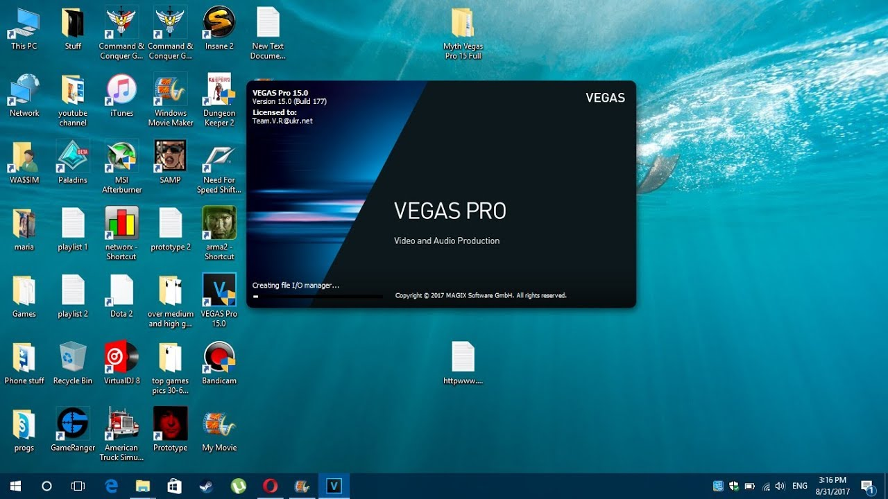 how to get sony vegas pro 15 for free mac