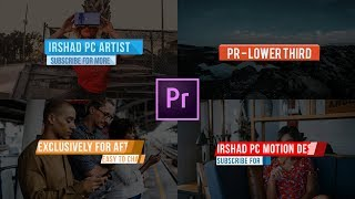 Download lagu Animated LOWER THIRDS Free Template Premiere Pro CC MP3