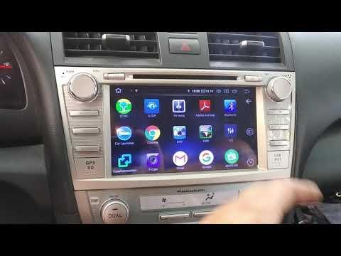 Camry 40Android 9 автомагнитола
