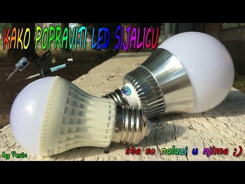 Kako popraviti LED siljalicu
