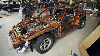Super Fast Toyota Supra Turbo Drag Race Car Build Project