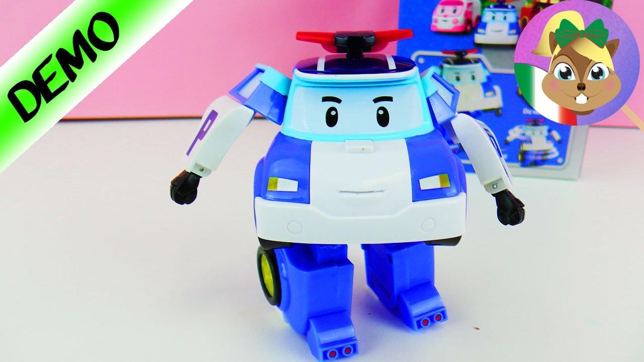 Policar poli e un transformer robot si trasforma in