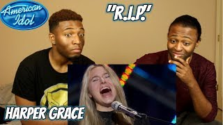 "Harper Grace Sings Original Tune ""R.I.P."" for Her Solo Performance - American Idol 2018"