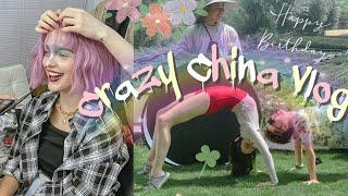 Crazy China Vlog Мой день рождения Сумасшедшая съёмка в Китае Новые апартаменты Гуанчжоу Влог 01