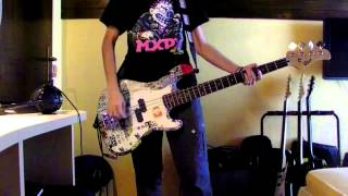 Anti-Flag - Drink Drank Punk BASS Cover
