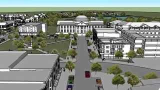 Spring Hill Town Square Master Plan Flyby produced by 906Studio.com