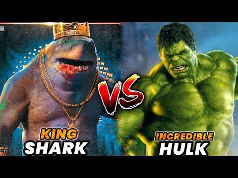 Download King Shark Vs Hulk /  Explained in Hindi ( KOMICIAN )