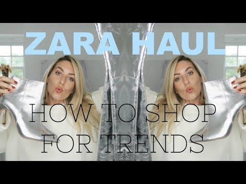 ZARA HIGH - STREET HAUL | | WHAT I BOUGHT IN SEPTEMBER | IAM CHOUQUETTE