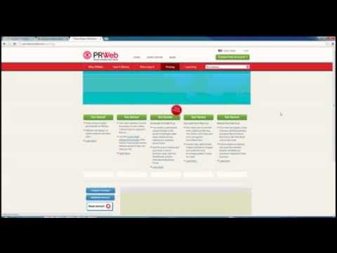How To Submit A Press Release - PRWeb