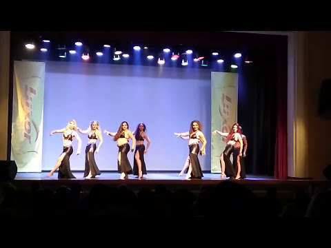 Dança do ventre Luxor 22 noite árabe Shakira 17/12/2017