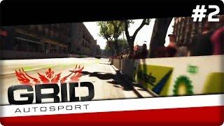 GRID Autosport Gameplay PL [#2] Stukamy się