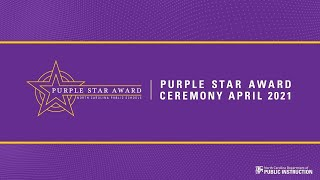 2021 Virtual Purple Star Award Ceremony