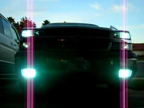 2005 Chevy Silverado With Hid Headlights Blinkers And Fog