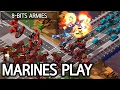 Marines play l 8-Bit Armies: Arena l Crank