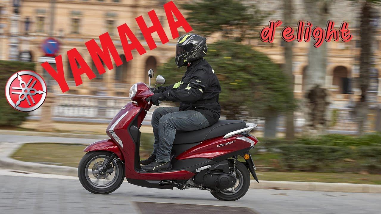 Presentación Yamaha D´elight 125 2021: la urbanita compacta