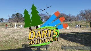 Dodging Zombies - Darts at the Park #2 (3.2.19)