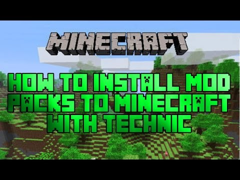 How To Install Mods for Minecraft (With Technic Launcher)(1.7.9, 1.7.10...)