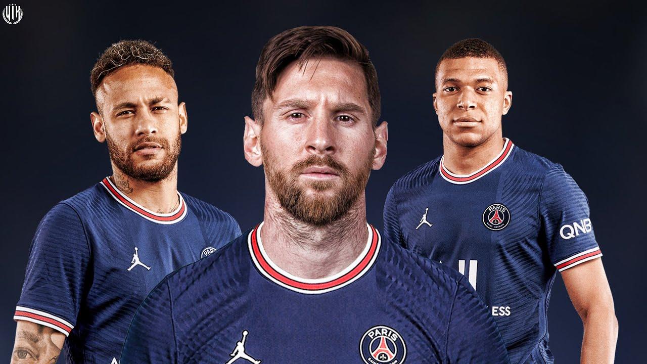 Messi & Neymar & Mbappe - MNM - New PSG Trio 2021 | HD - YouTube