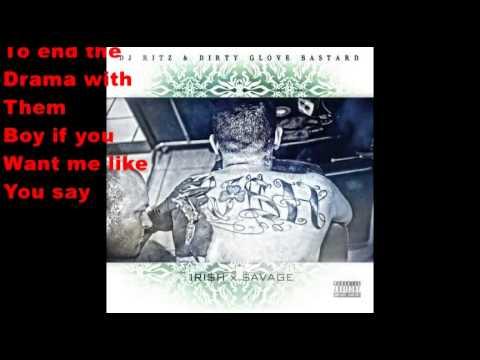 Another Minute (Lyrics)- $hamrock Ft. SugaNotes
