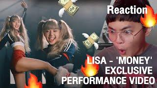 Reaction LISA - 'MONEY' EXCLUSIVE PERFORMANCE VIDEO   น้องมันนี่ ท่าเต้นดื้อมาก!