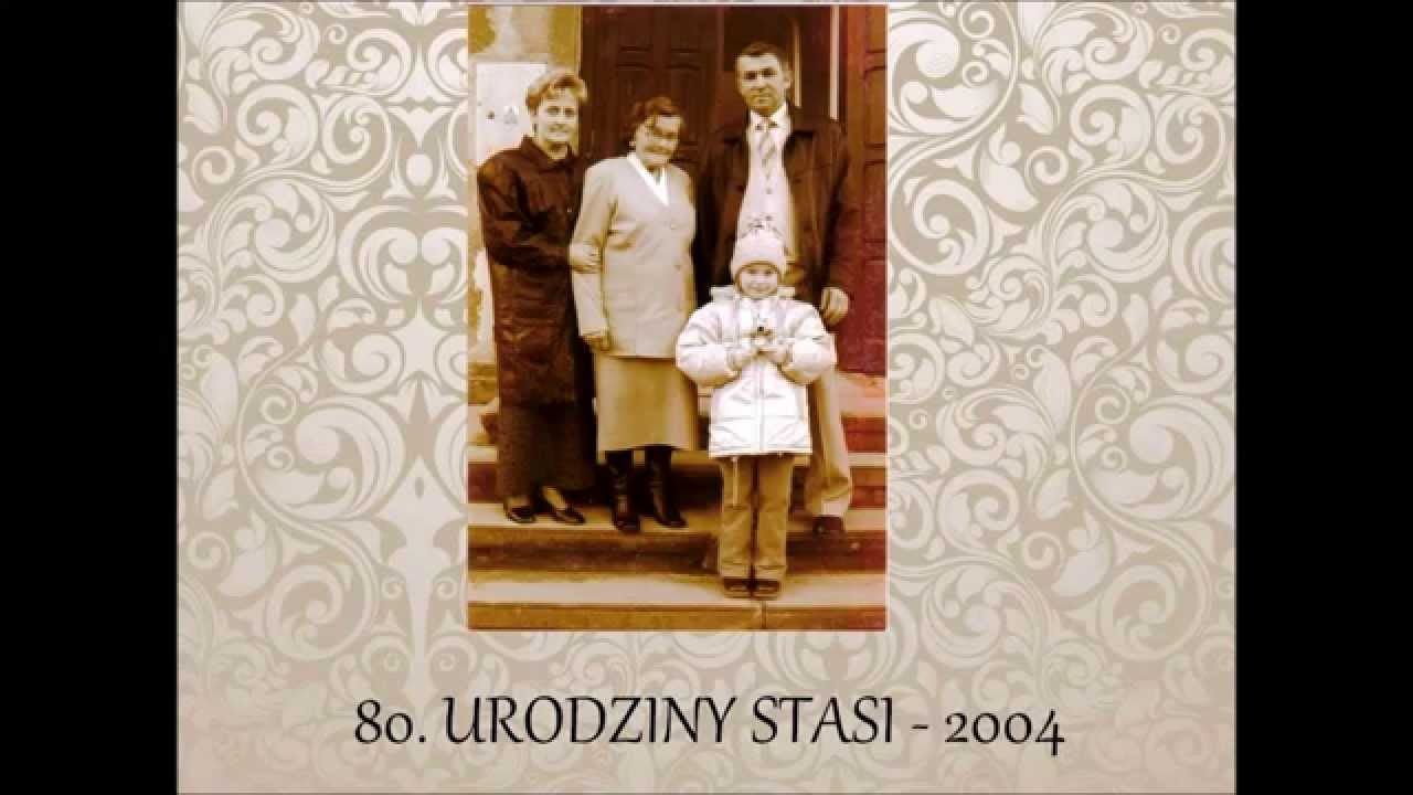 Stanisława Kmiciewicz 90 Urodziny Youtube