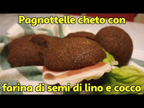 🍔-pagnottelle-cheto-soffici-con-farina-di-semi-di-lino-e-cocco-#dietachetogenica-#theitalianketoguy