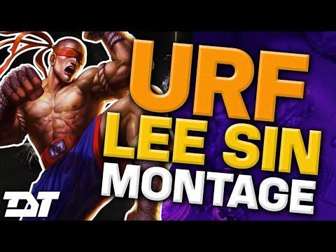 TheDarkTongo URF Lee Sin Montage 2 - Best LoL Plays 2016