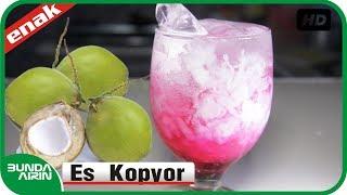 Cara Membuat Es Kopyor - Resep Minuman Es Segar - Kuliner Indonesia - Bunda Airin