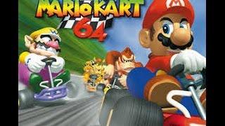 El juego de autos de Mario!!! | Super Mario Kart 64 | SombraTheHedgehog