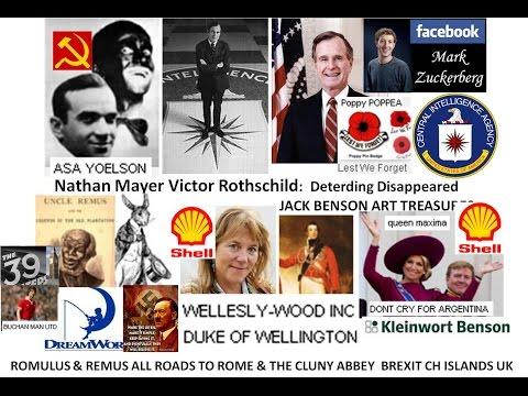 US Govt Swanny R  CIA Qu Maxima Brexits Ch Islands UK Remus Jolson WW1 WW2