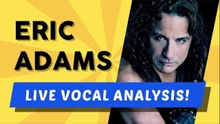 Vocal Coach Analyzes Manowar! (Eric Adams)