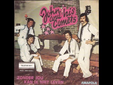 John & his Comets [solo Cees van de Leur] - Amapola (1980)