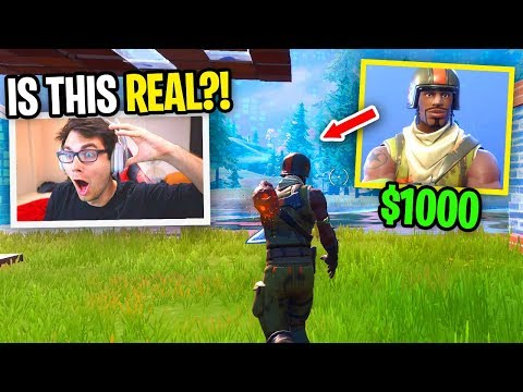 I Died And Spectated An AERIAL ASSAULT TROOPER... (RAREST SKIN IN FORTNITE)