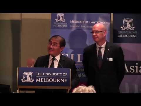 Distinguished Asian Lecture: Professor Jimly Asshiddiqie