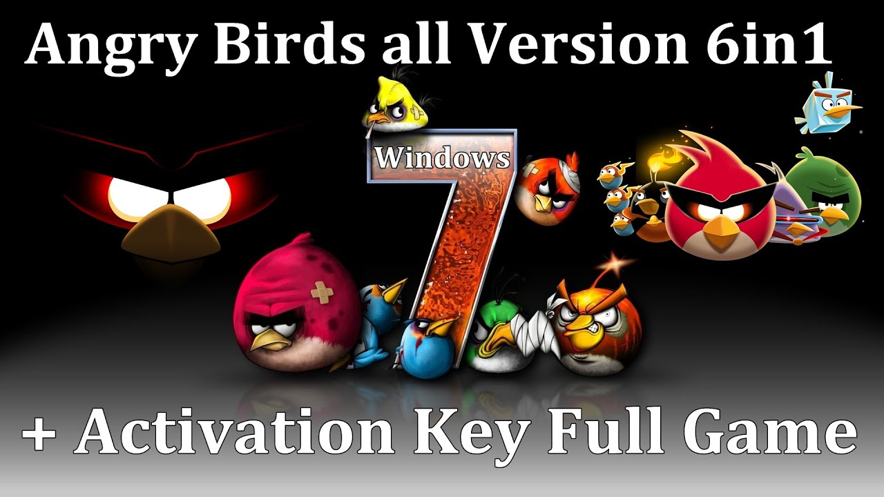 Angry birds all version 6in1 activation key full game youtube altavistaventures Images