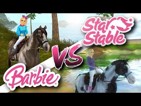 Star Stable vs. Barbie Horse Adventures