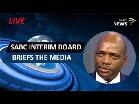 SABC interim board holds media briefing on Hlaudi